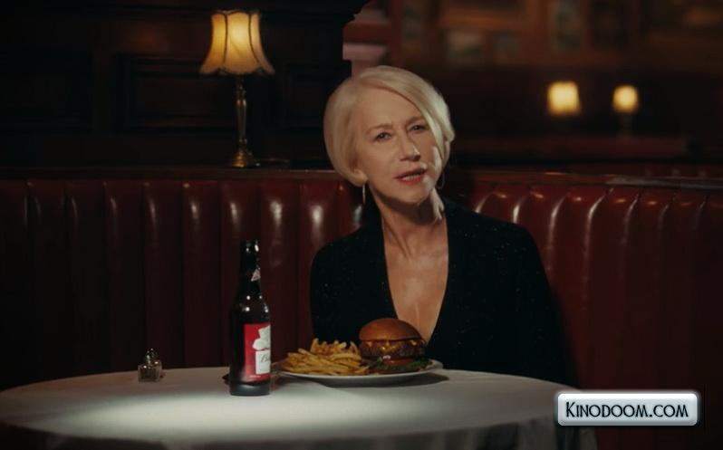 Это фрагмент рекламы. Что рекламирует актриса?